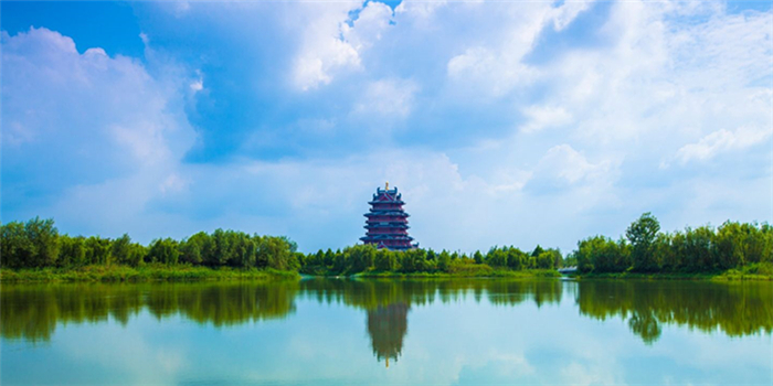 邳州沙沟湖美景